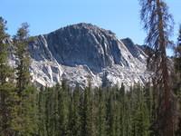 A sub-peak of Madera Peak