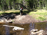 Little water crossing, West Fork Granite Creek I believe