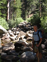 Mike at West Fork Granite Creek