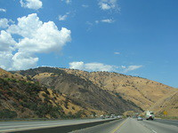 Through the mountains to the Central Valley