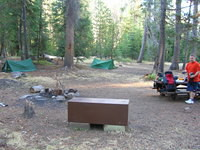 Clover Meadow camp