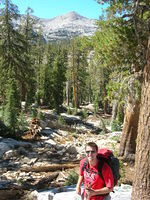 Jason below Madera peak