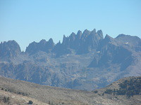 Minarets from Post Peak Pass