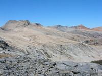 Triple Divide Peak's granite skirt