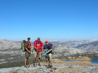 Mike, Jason, Tom in Yosemite wilderness
