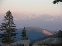Ritter Range at dusk