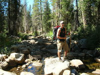 West Fork Granite Creek crossing