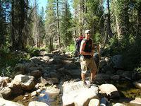 West Fork Granite Creek crossing