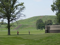 Monk's Mound at Cahokia Mounds