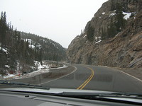 Heading up east side of the pass