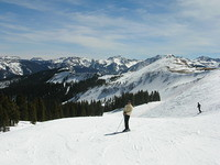 Atop Wolf Creek Ski Area