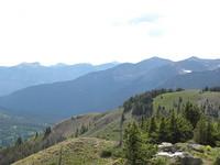 Looking northwest from Lobo Overlook