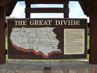 Great Divide sign
