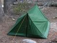 Ye olde pup tent