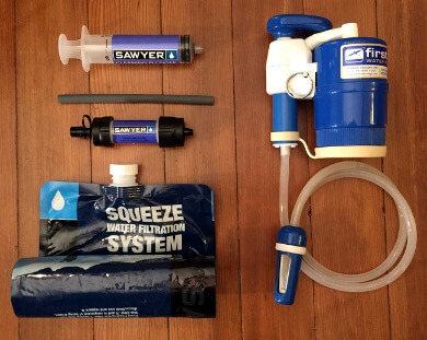 Sawyer Mini Water Filter as Primary Backpacking Water Treatment ...