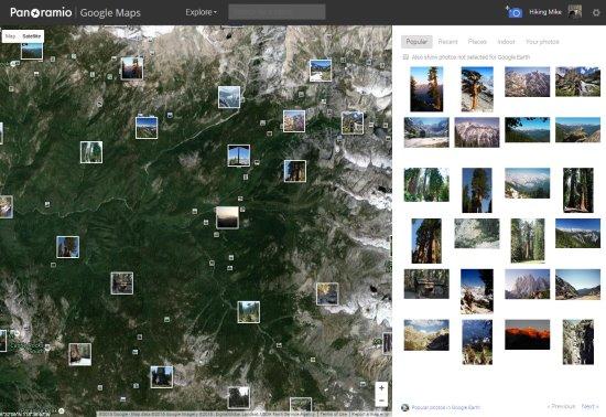 for Panoramio photos