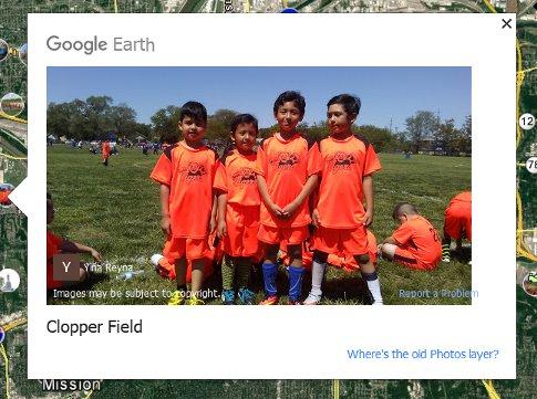 Google Earth new photos layer screenshot5a